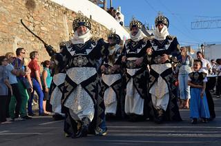 Moros y Cristianos Cabilas /Mojácar 2013/ Moors & Christians /  Maures et chrétiens/