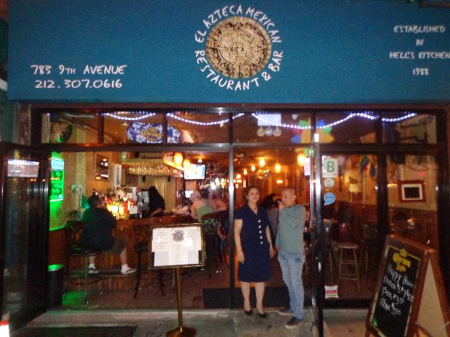 Feliz Cumplea Os Marco A Manosalva At El Azteca Mexican Restaurant In New York City Flickr