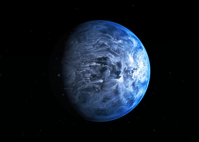 NASA Hubble Finds a True Blue Planet