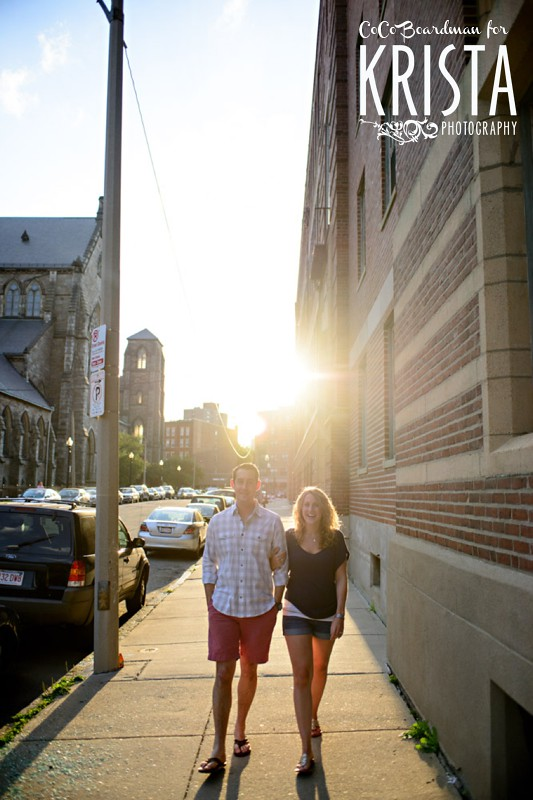 South End (Boston) Engagement Session