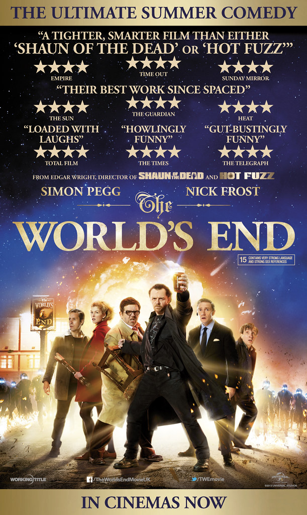 UK & Ireland / The World's End is OUT NOW!