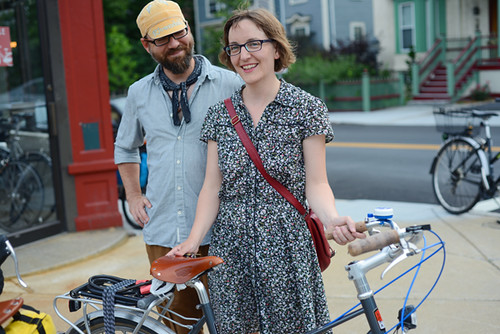 Bikeyface! Bicycle Belle Opening