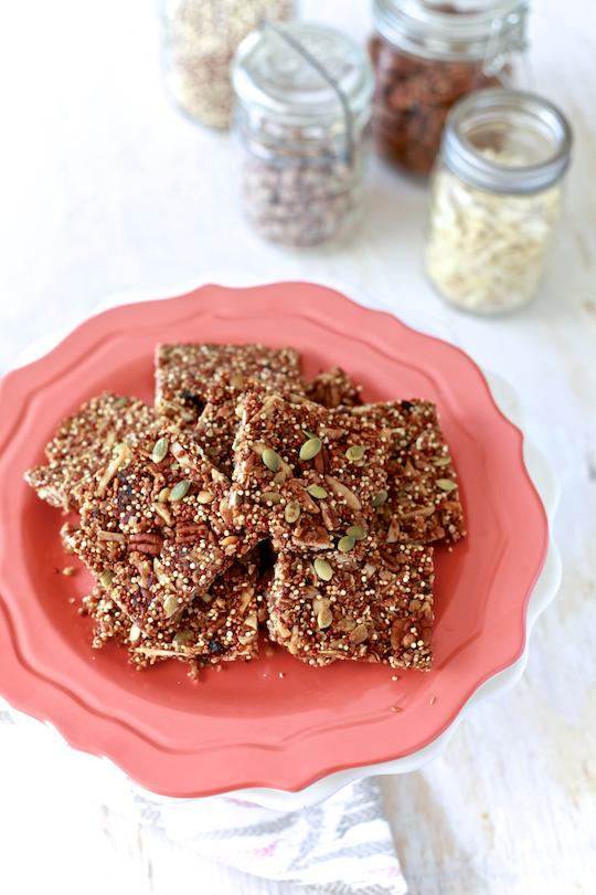 Quinoa Granola Bars 13