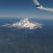 Flying over Mt Rainier by jenfoolery