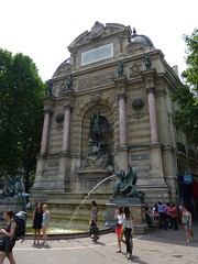 Fontaine Saint-Michelle