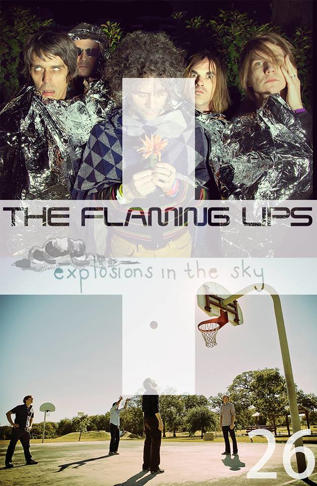 The Flaming Lips, Explosions in the Sky 10月來台決定!!