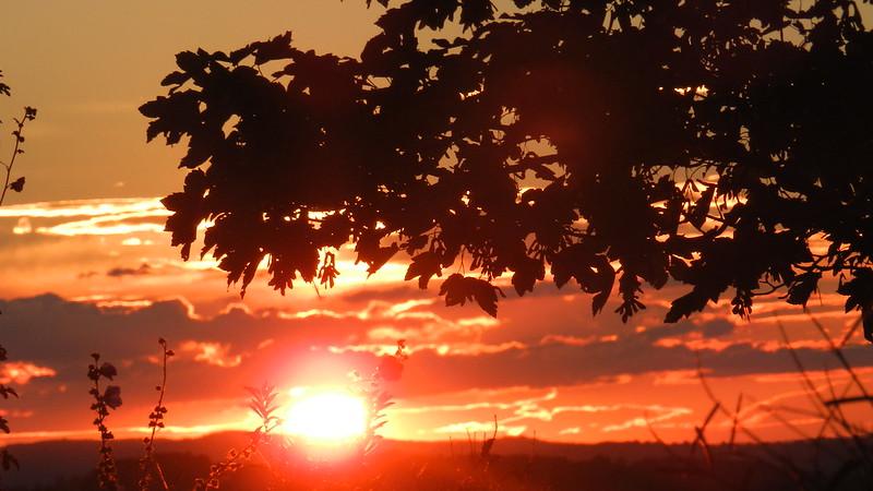Coucher de soleil 8 Aout 2013