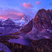Mt. Assiniboine Sunrise by kevin mcneal