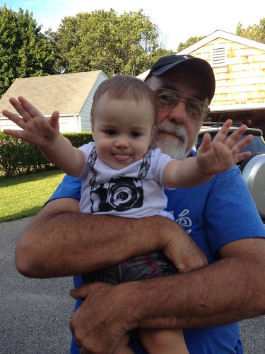 Grandpa with Elliott