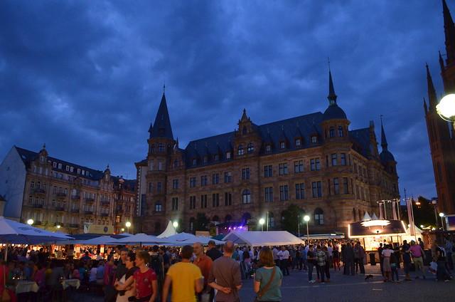 Wiesbaden Wine Fest 2013 Nighttime