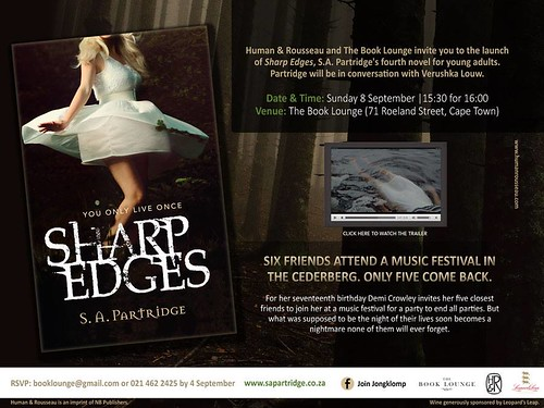 Invitation: Launch of Sharp Edges