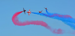 The Red Arrows - Airbourne, Eastbourne, August 2013