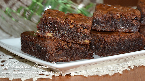 Double Choc Brownies