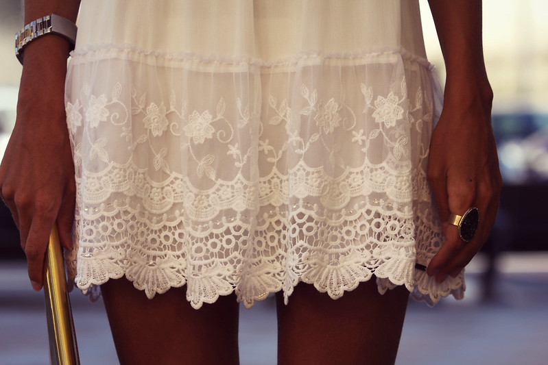 style lover abercrombie white dress VII