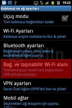 Android Cihazı Modem Olarak Kullanmak-3