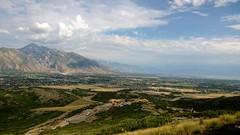 A view of Utah County, Utah