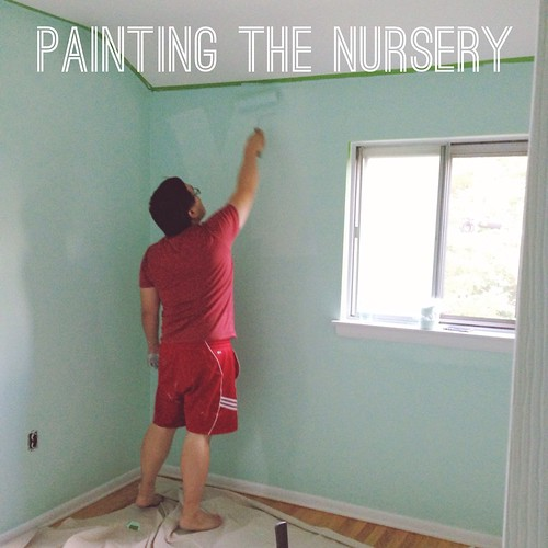 Painting Negi's Nursery