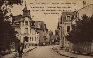 La Rochelle: rue Jeanne d'Albret