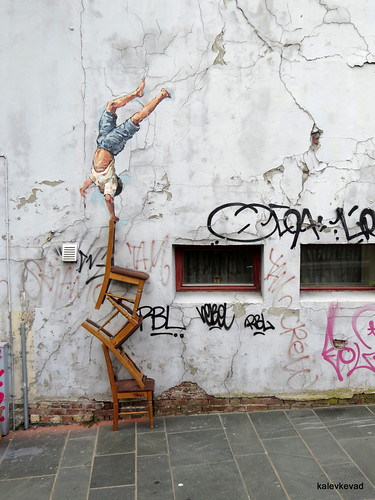 Ernest Zacharevic at Nuart 2013