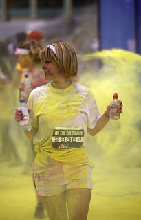 Brighton 2013: The Colour Run - Water, colour 7109