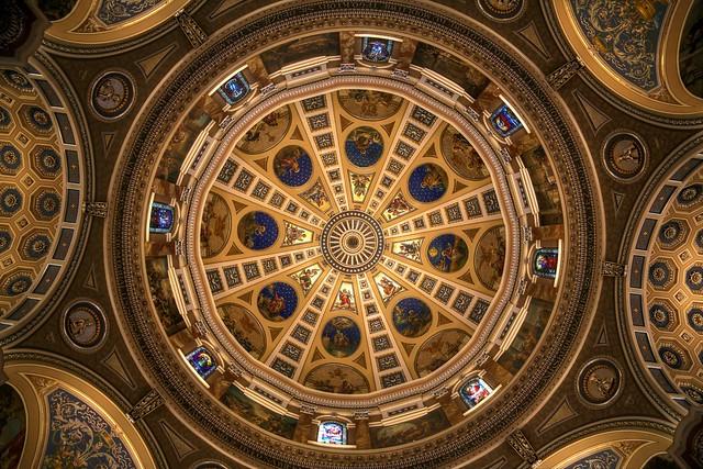 Saint Josaphat Basilica interior dome