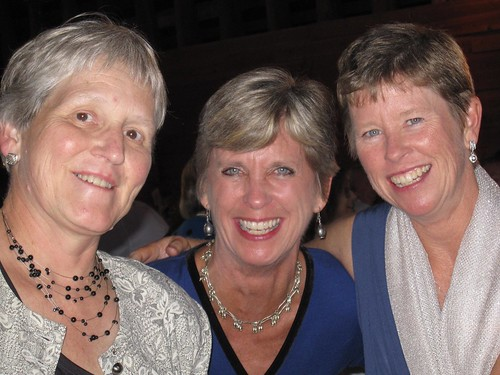Nancy, Janice, Diane at Wedding via MealMakeoverMoms.com/kitchen
