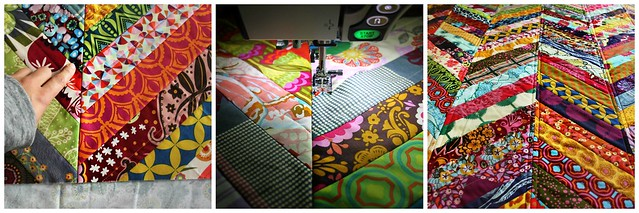 15. Sew on quilt backing