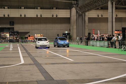 CEATEC JAPAN 203 日産 自動運転デモンストレーション
