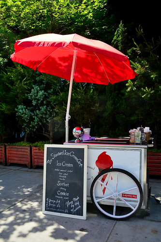 Ice Cream Cart at the Standard