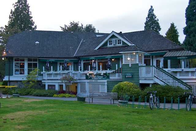 The Fish House in Stanley Park