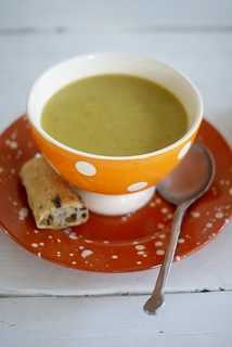 pumpkin courgette soup