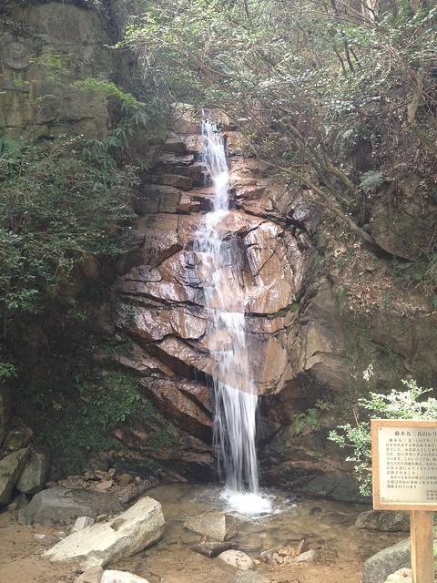 六甲山 ロックガーデン 高座の滝