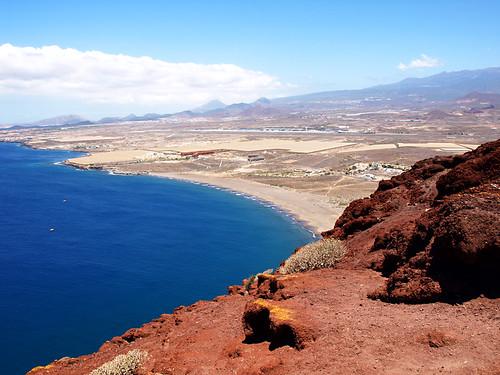 View from Montaña Roja, El Medano, Tenerife