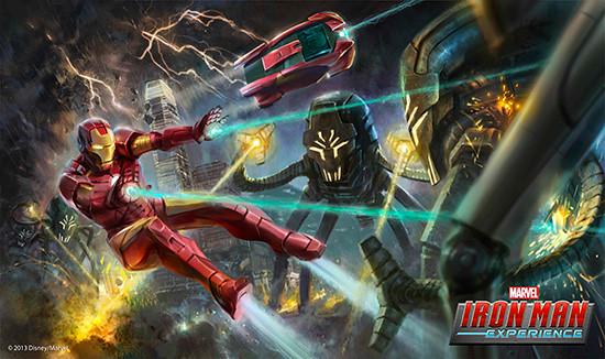 marvel iron man experience
