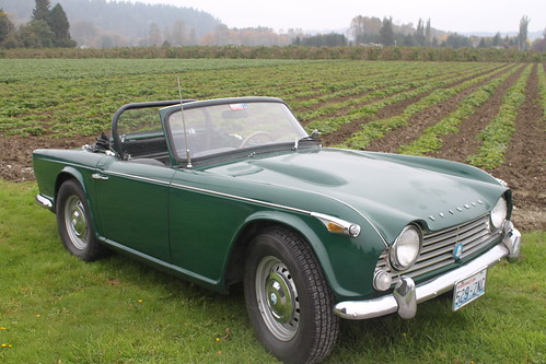 sold 1967 triumph tr4 a irs professional ford 302 v8 transplant a wolf in sheep s clothing. Black Bedroom Furniture Sets. Home Design Ideas