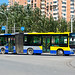 [Buses in Beijing]黄海 Huanghai DD6140S01 北京公交集团 BPT #14966 Line 596 Front-right at Beiyuanjiayuan