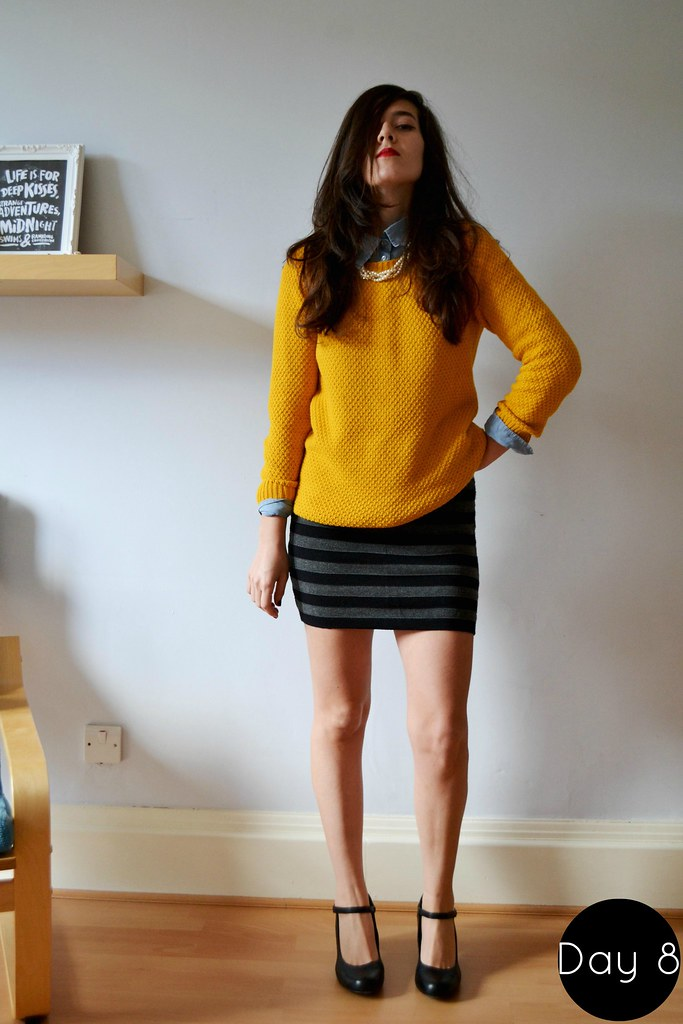 The yellow jumper