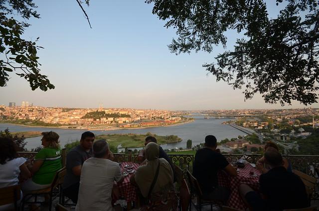 Café Pierre Loti en Estambul con alguna de las mejores vistas de la ciudad