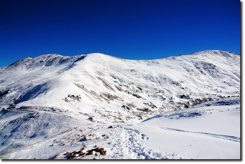 Loveland Pass  東邊山景