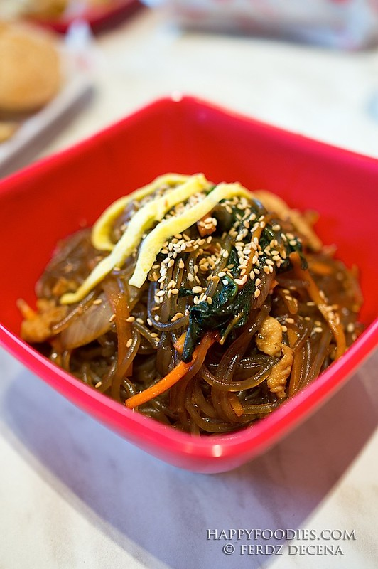 Korean noodle Chapchae