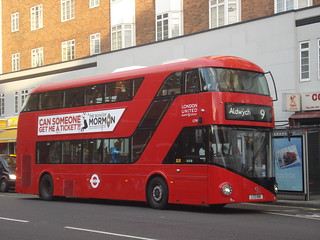 London United LT91 (LTZ1091) on Route 9, Hammersmith