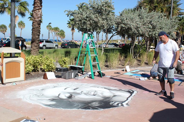 Clearwater beach chalk walk art festival 2013 flickr for Craft fairs in clearwater fl