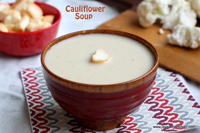 cauliflower- soup