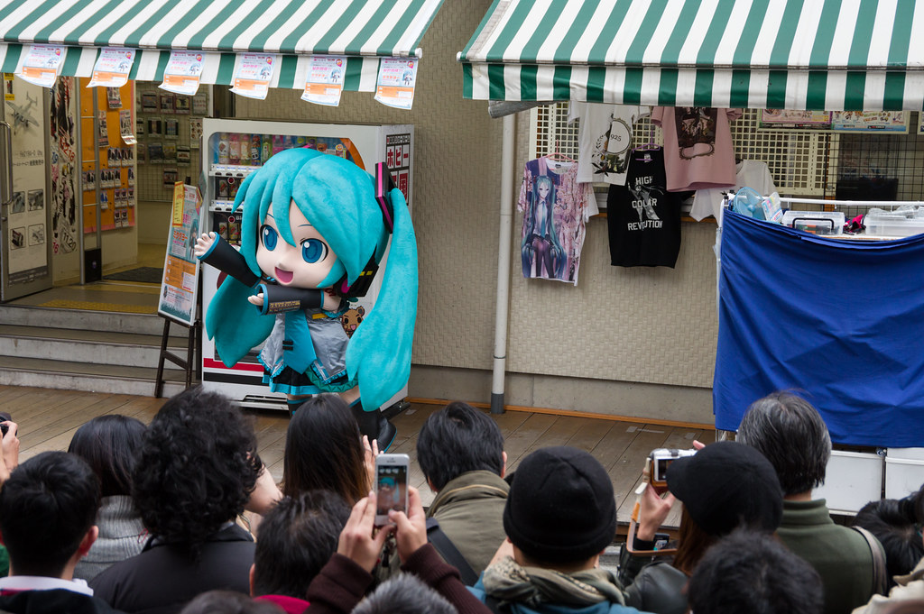 Mikudayo in VOLKS Akihabara : Pentax K-3 testshot
