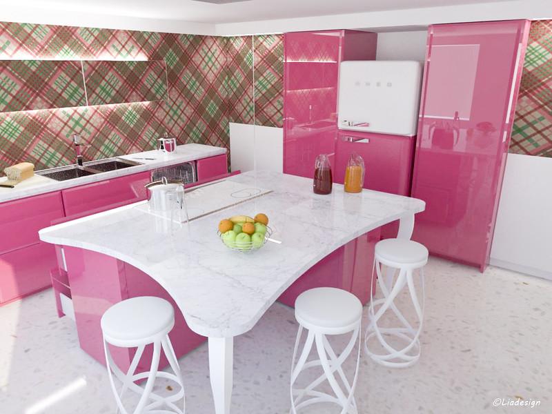 Mammeonline leggi argomento l 39 evoluzione della cucina rosa - Cocina rosa ...