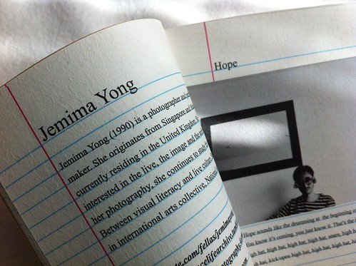 Artitute - Art Booklet 01 - Jemima Yong
