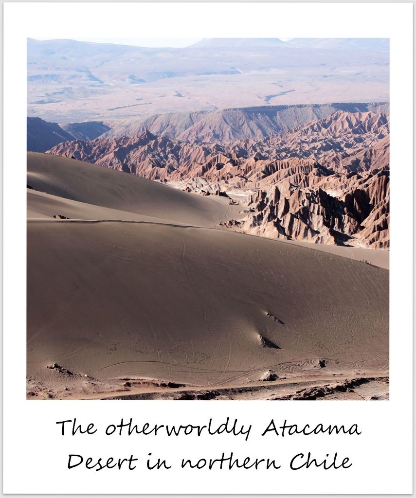 polaroid of the week atacama desert chile