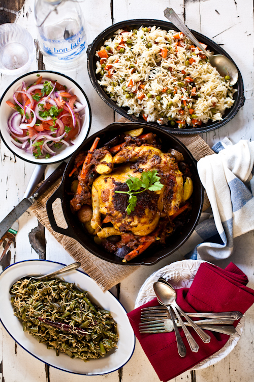 Indian Thanksgiving Feast
