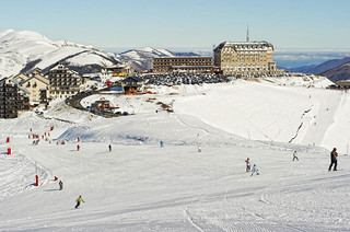 Estación de esquí.