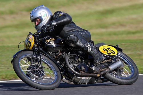 #25 MIKE FARRALL RUDGE TTR 500cc 1928  VMCC CADWELL PARK